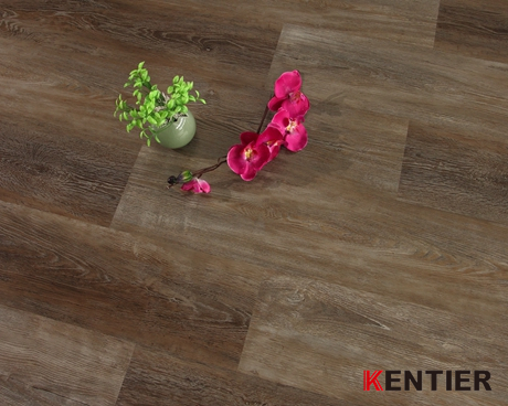 K3081-Oak Wood Texture Dry Back Flooring with 6''*48'' Size