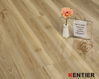 Warm-toned Stone Plastic Composite Flooring